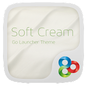 Soft cream GO Launcher Theme