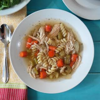 Chicken Noodle Soup – Crockpot