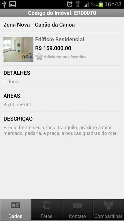 Sulina Imóveis - screenshot