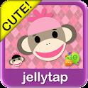 Sock Monkey Pink SMS Theme
