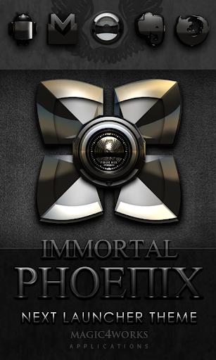 Next Launcher Theme Phoenix