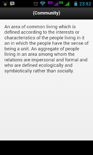 玩教育App|Dictionary Of Sociology免費|APP試玩