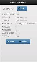 Screenshot of Router Status Checker