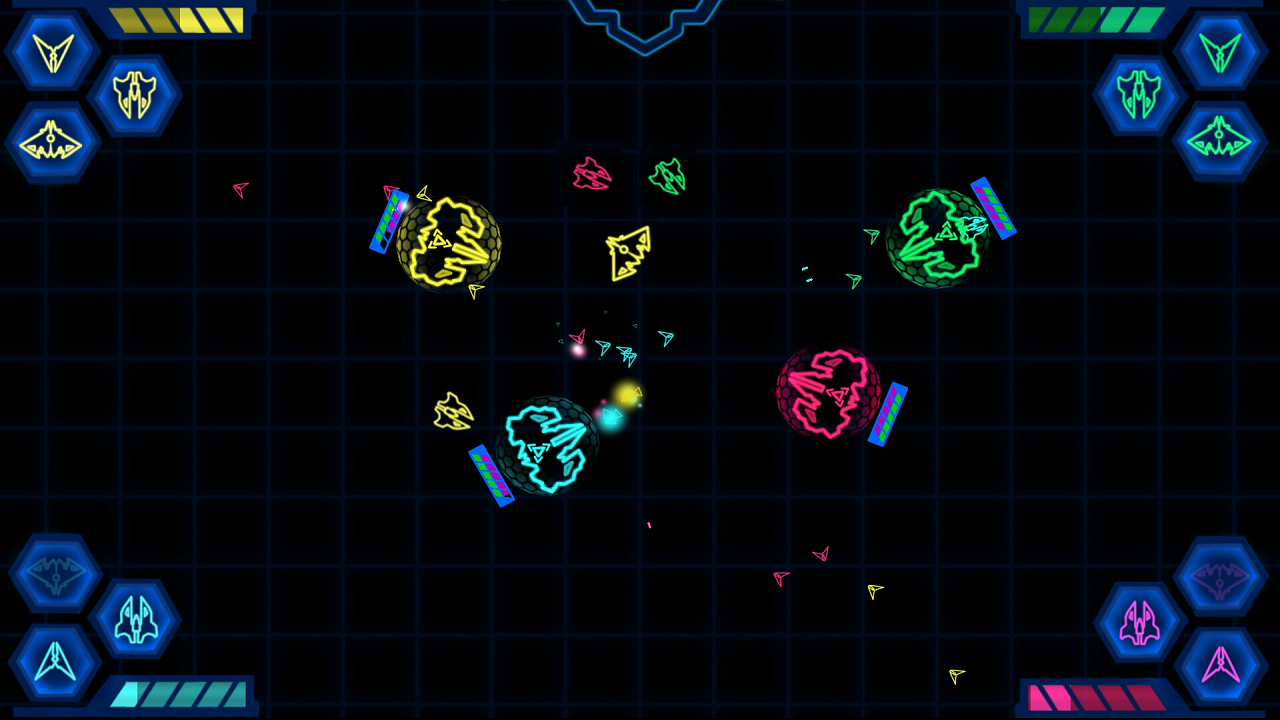Mothership Touch Battle Free - screenshot