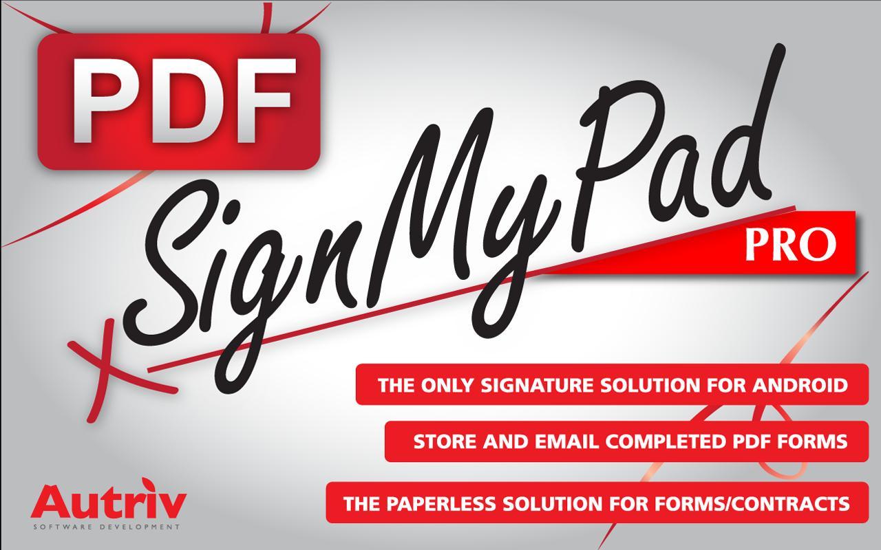 SignMyPad Pro- screenshot
