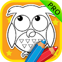 ABC Coloring Book for Kids Pro icon