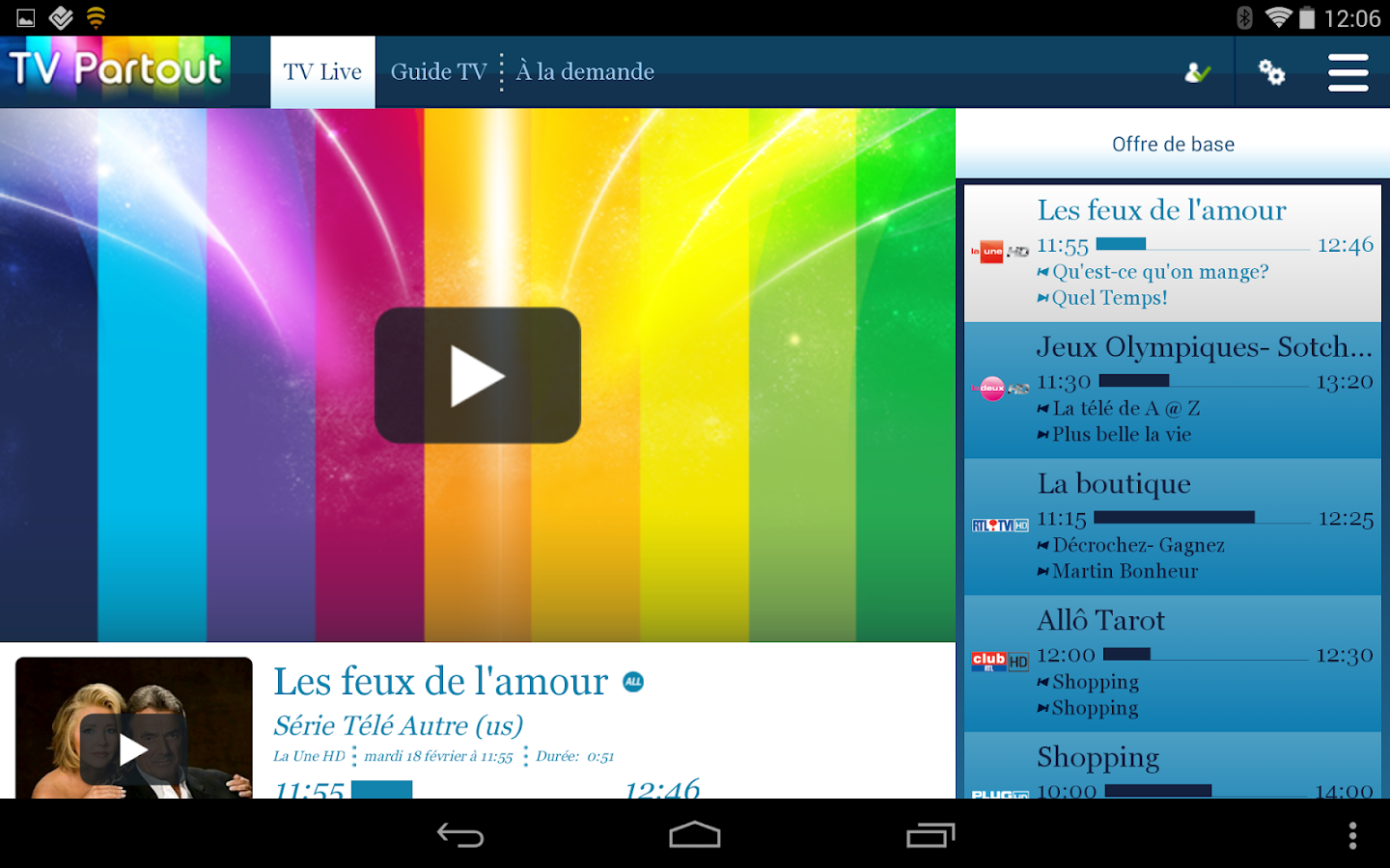 TV Overal / TV Partout - screenshot
