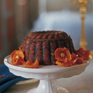 Steamed Persimmon Pudding.