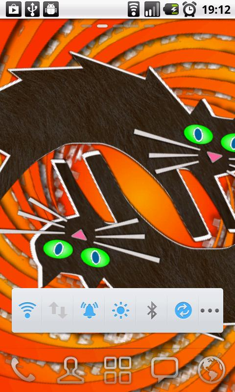 Psycho Cat RLW Live Wallpaper - screenshot