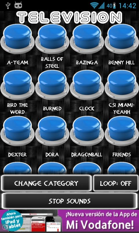 Instant Buttons ( iButtons ) - screenshot
