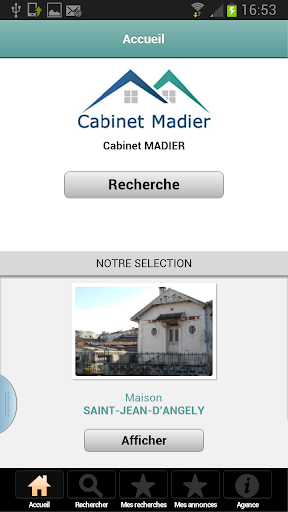 Cabinet Madier - immobilier