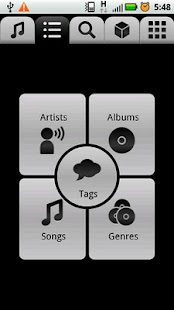 jukefox - a smart music player- screenshot thumbnail