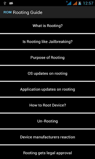 Rooting Android Guide - Phone Rooting 16 screenshots 3