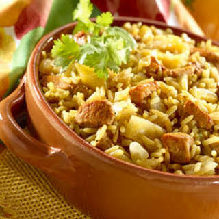 Knorr Tropical Pork Paella.