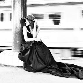 by Re Rahnavarda - Black & White Street & Candid