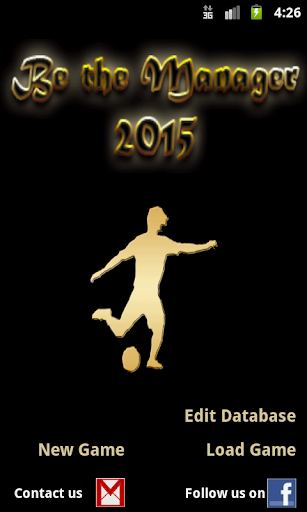 Be the Manager 2015 Football