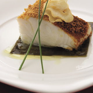 Steamed Chilean Sea Bass with Dry Miso