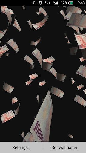 Download Money Rain Live Wallpaper For PC