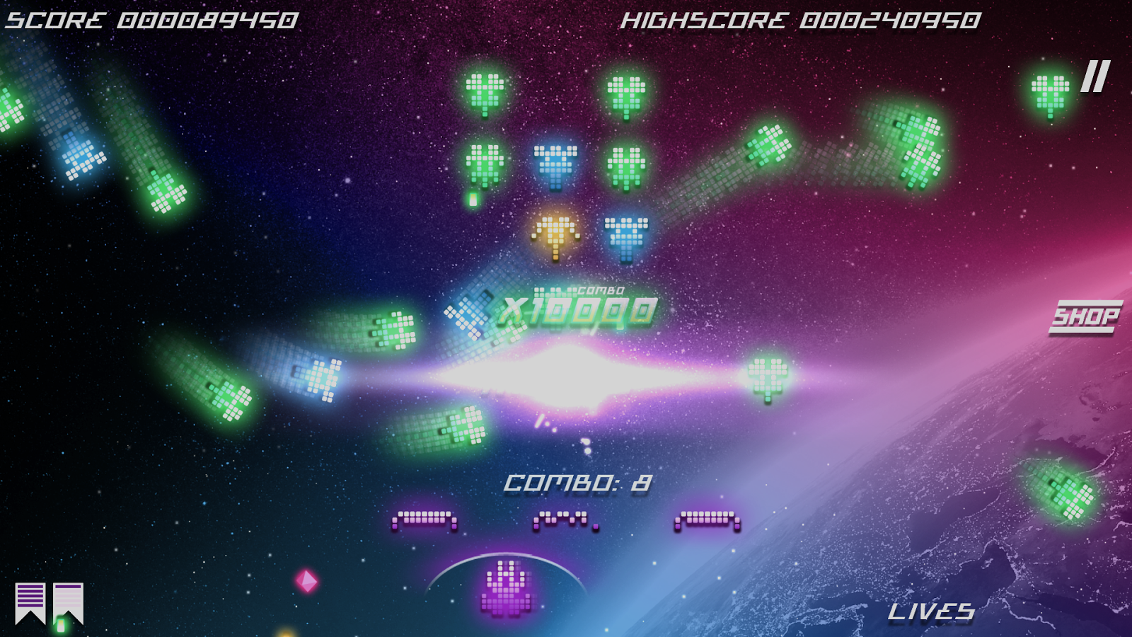 Kosmik Revenge - Retro Arcade Shoot 'Em Up- screenshot