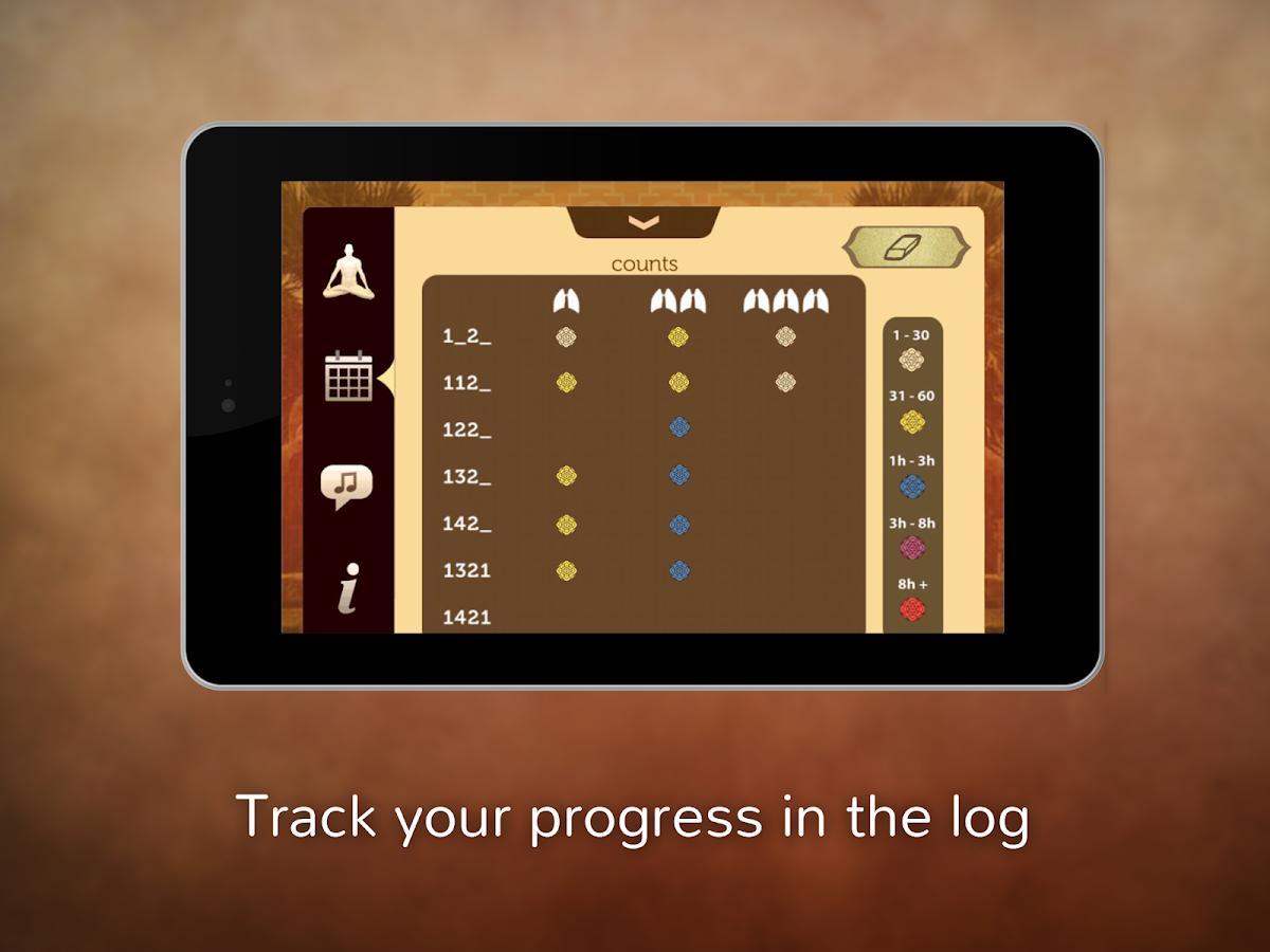 Pranayama Free - screenshot