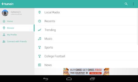 TuneIn Radio - Radio & Music Screenshot 26