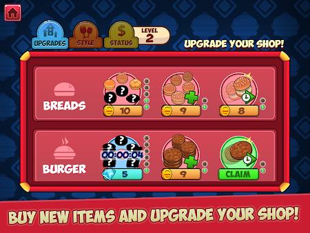 My Burger Shop - Fast Food 1.0.9 screenshot 100307