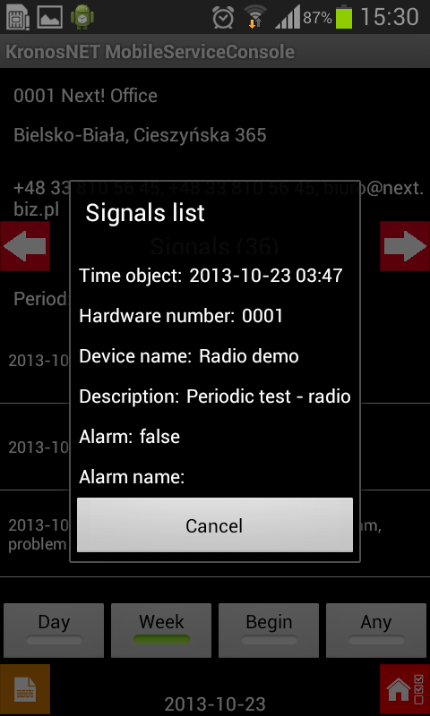 Kronosnet service console android apps on google play for Consol service