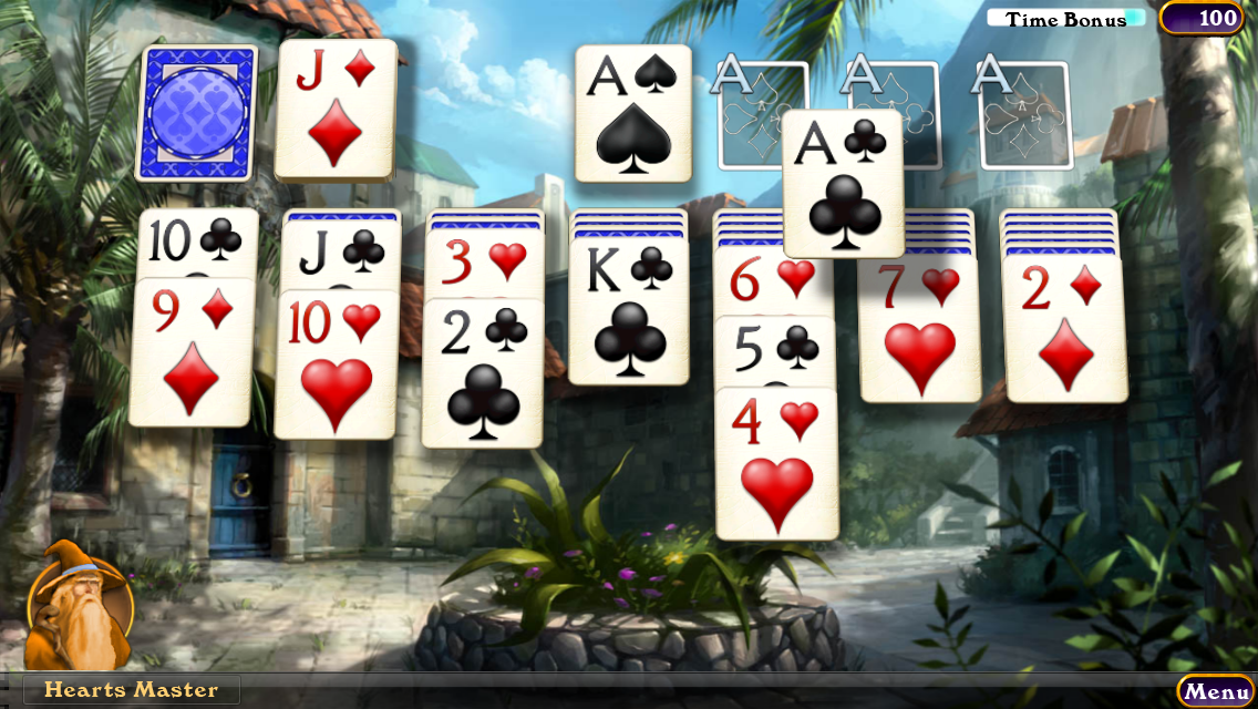 Hardwood Solitaire IV (Free) - screenshot