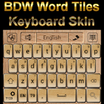 Word Tiles Go Keyboard Skin