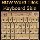 Word Tiles Go Keyboard Skin