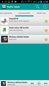 Muslim Radio screenshot 2