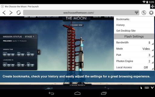 Photon Flash Player & Browser 5.3 screenshots 6