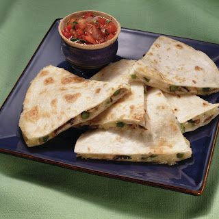 Mushroom & Jack Cheese Quesadillas Recipe