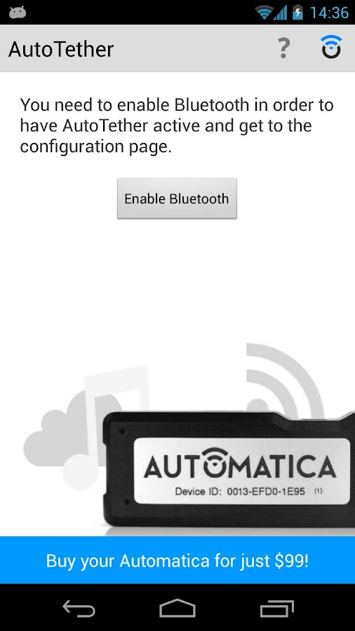 AutoTether for Automatica - screenshot