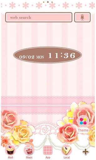 Rose Wallpaper Sweet Pink 1.3 Windows u7528 1