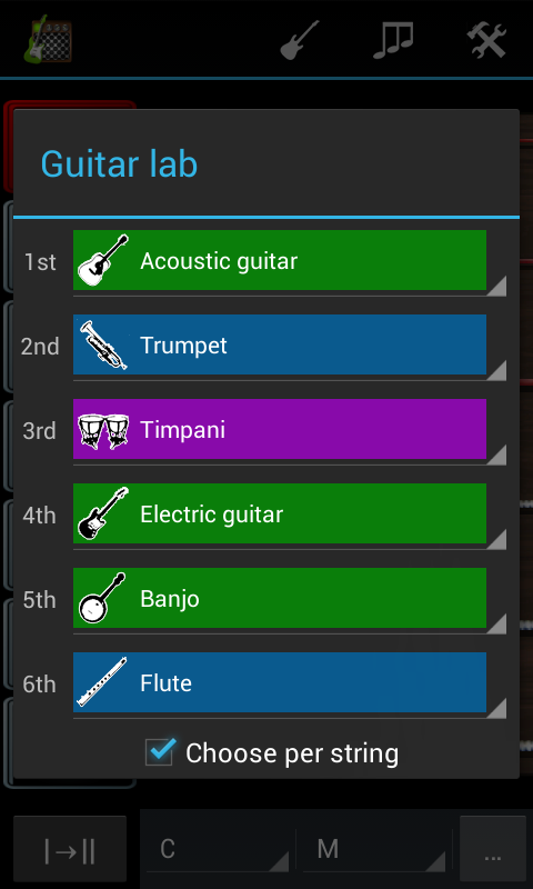 Robotic Guitarist Free - screenshot
