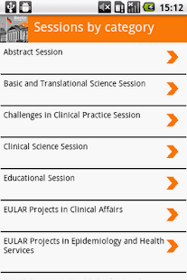 EULAR 2012 - screenshot thumbnail