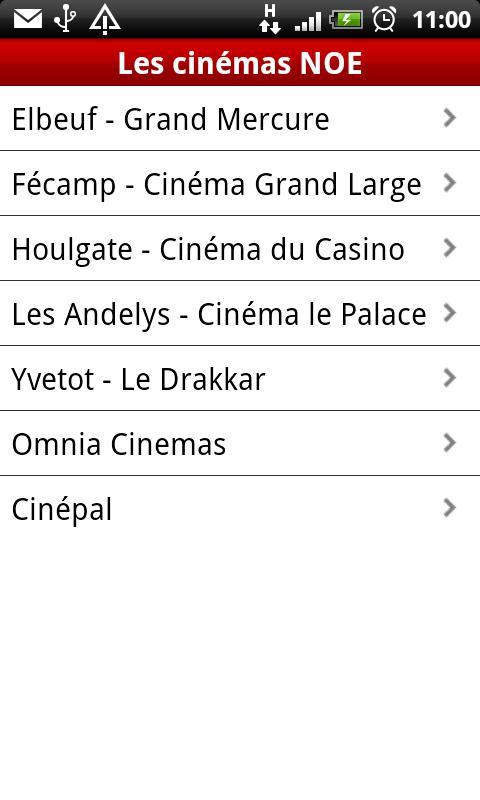 NOE Cinémas- screenshot