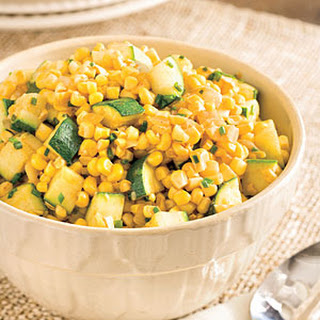 Sweet Corn and Zucchini.
