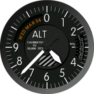 Altimeter Watch Face for Android