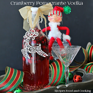 Cranberry Pomegranate Vodka.