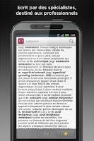 Screenshot of Dictionnaire Lavoisier