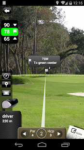 Mobitee Golf GPS Free Capture d'écran