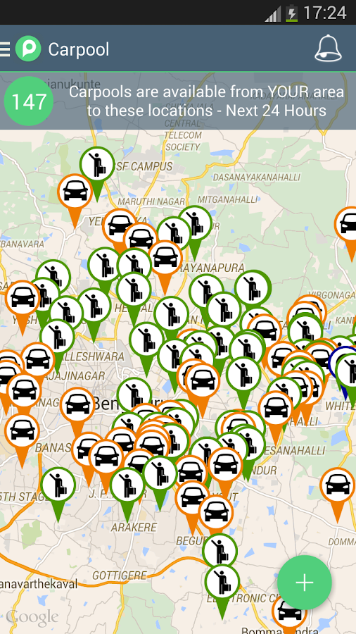 PoolCircle Ridesharing Carpool- screenshot