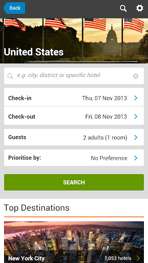 booking and compare hotels
