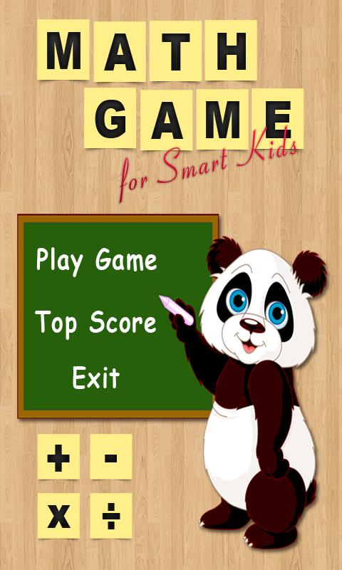Math Game for Smart Kids - screenshot