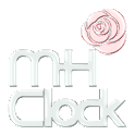 MH Clock Red Rose logo
