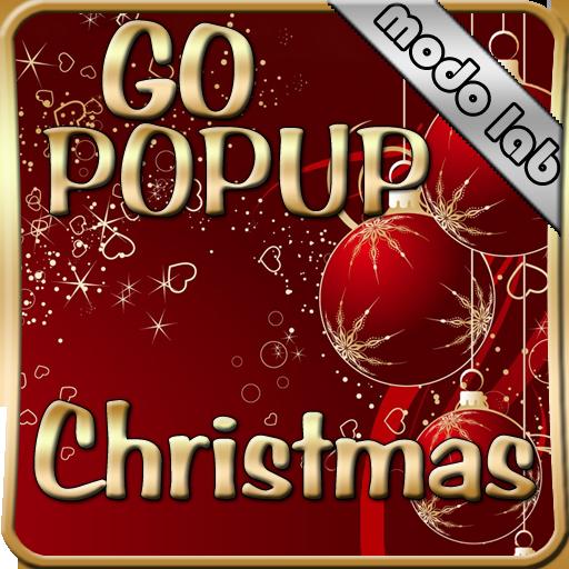 Christmas Popup Go sms theme LOGO-APP點子