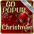 Christmas Popup Go sms theme icon
