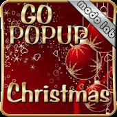 Christmas Popup Go sms theme